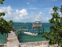 Privatinsel bei Harbour Island, Insel, Pierre Island, Bahamas
